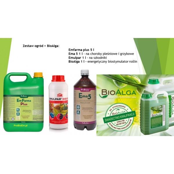 Zestaw ogród + BIOalga - promocja