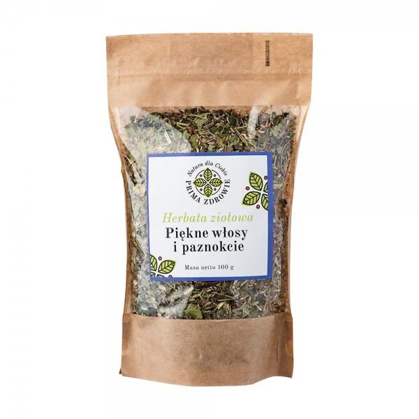 Herbatka ziołowa piękne włosy i paznokcie 100g