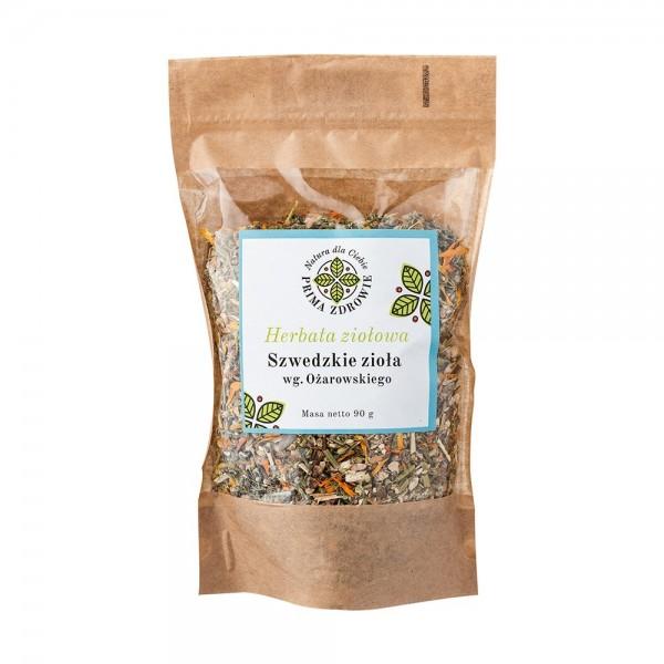 Herbatka ziołowa szwedzkie zioła według Ożarowskiego 90g