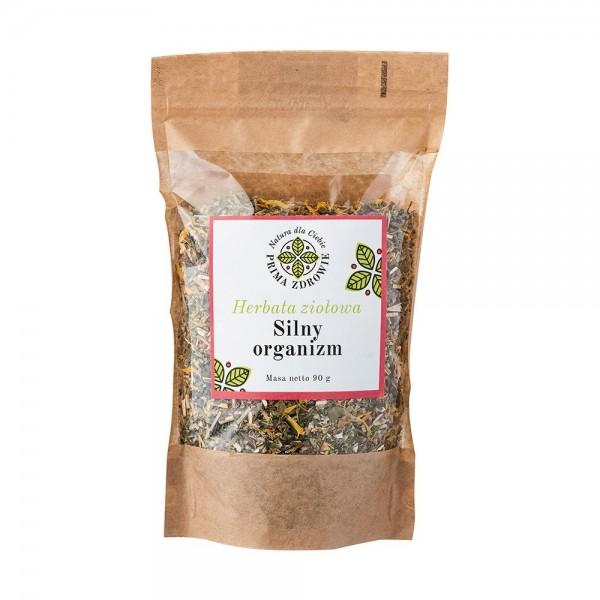 Herbatka ziołowa silny organizm 90g