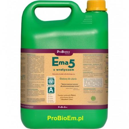 Ema5 z Wrotyczem 5 l naturalny fungicyd, na pędraki