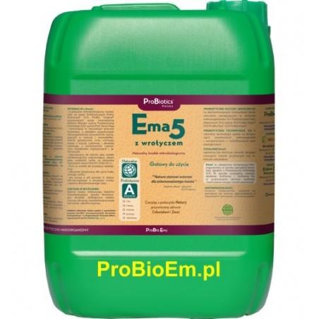 Ema5 z Wrotyczem 20 l naturalny fungicyd, na pędraki
