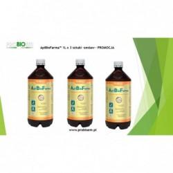 ZESTAW ApiBioFarma 1 litr 6 sztuk PROMOCJA