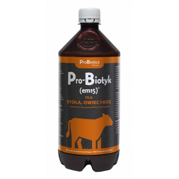 ProBiotyk (em15) dla bydła, owiec i kóz - 1L