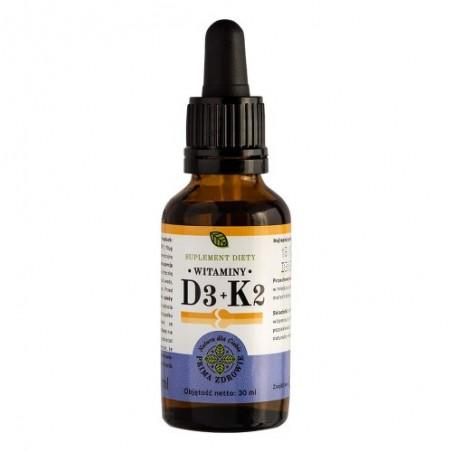 Witamina D3+K2Mk7  30 ml